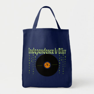 Independence Is Bliss Tote Bag