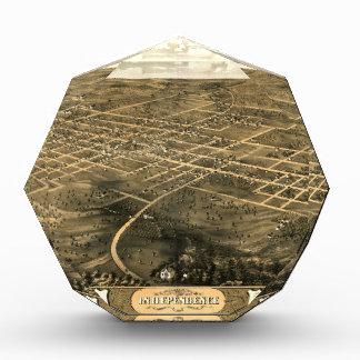 Independence Misssouri 1868 Acrylic Award