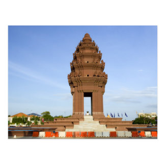 Independence Monument in Phnom Penh Postcard