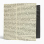 Independence of The United States 1783 AD Vinyl Binder