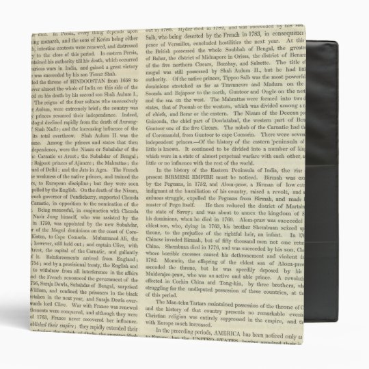 Independence of The United States 1783 AD Binder
