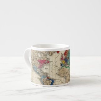 Independence of The United States 1783 AD Espresso Cup