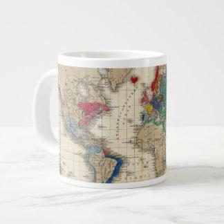 Independence of The United States 1783 AD Large Coffee Mug