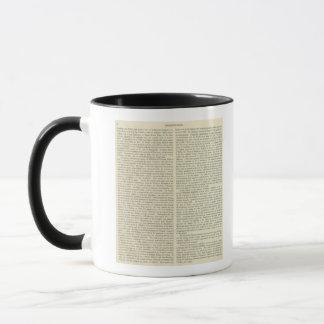 Independence of The United States 1783 AD Mug