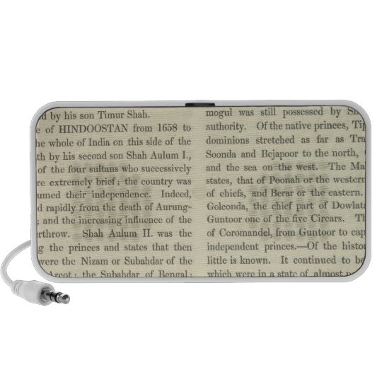 Independence of The United States 1783 AD Portable Speaker