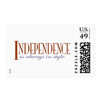 Independence Postage Stamps
