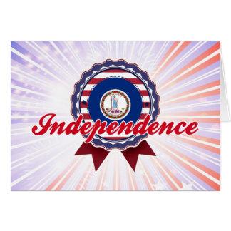 Independence, VA Greeting Card
