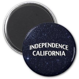 Independencia California Imán Redondo 5 Cm