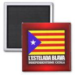 Independencia catalana imán para frigorifico