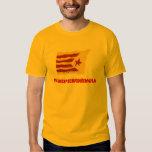 Independencia catalana (para hombre/unisex) playeras