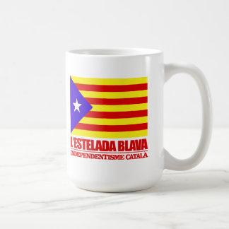 Independencia catalana taza de café