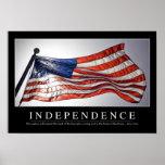 Independencia: Cita inspirada 2 Posters