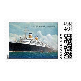 Independencia de USS y vintage de la constitución Estampilla