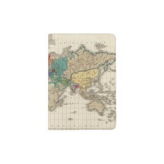 Independencia Del ANUNCIO 1783 de Estados Unidos Porta Pasaporte