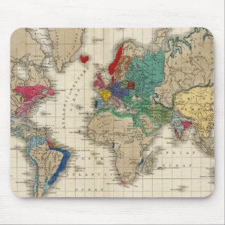 Independencia Del ANUNCIO 1783 de Estados Unidos Tapete De Ratones