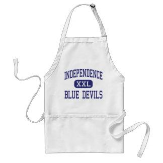 Independencia del centro de los diablos azules de delantal