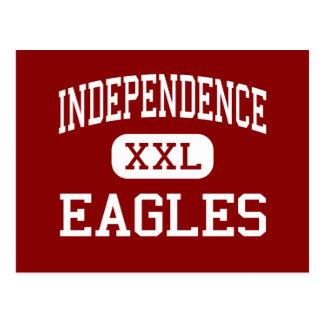Independencia - Eagles - centro - Virginia Beach Tarjetas Postales