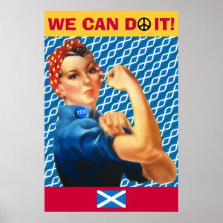 Independencia escocesa podemos hacerla poster