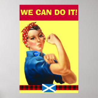 Independencia escocesa podemos hacerla poster de W