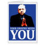 Independencia escocesa: Su país le necesita, Felicitacion