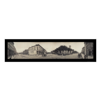 Independencia, foto 1909 de Missouri Póster