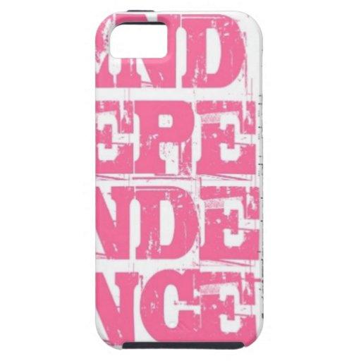 Independencia iPhone 5 Fundas
