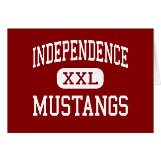 Independencia - mustangos - centro - independencia felicitacion