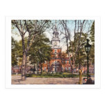 Independencia Pasillo Philadelphia, vintage 1900 d Tarjeta Postal