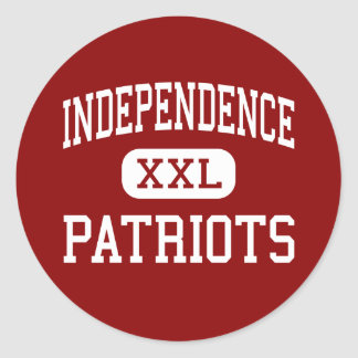 Independencia - patriotas - joven - Palos Heights Pegatina