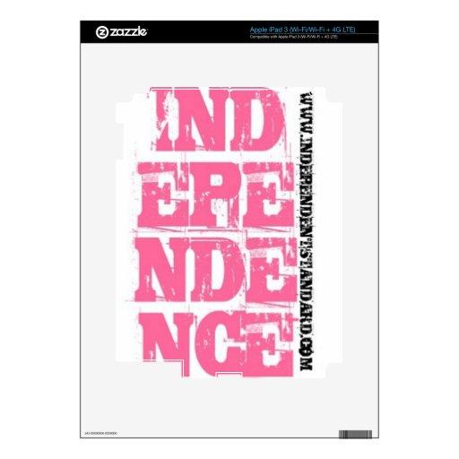 Independencia Pegatinas Skins Para iPad 3