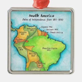 Independencia suramericana ornamento para reyes magos