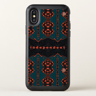Independent and proud speck iPhone x case