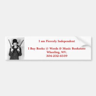 independent bookstore wheeling wv. bumper sticker car bumper sticker