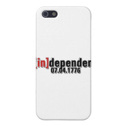 Independent Day July 4, 1776 iPhone 5 Case