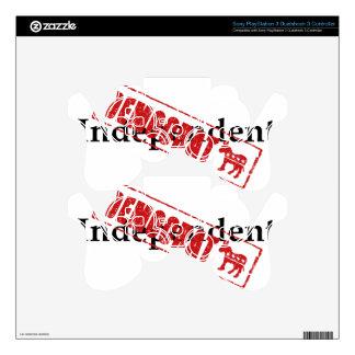 Independent: DEMOCRAT Skin For PS3 Controller