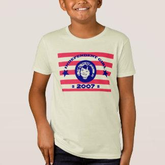 Independent Girl- custom organic shirt