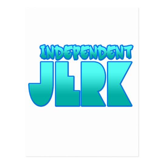 INDEPENDENT JERK  jerkin dance guys girls Postcard