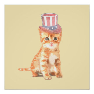 Independent Kitty Poster