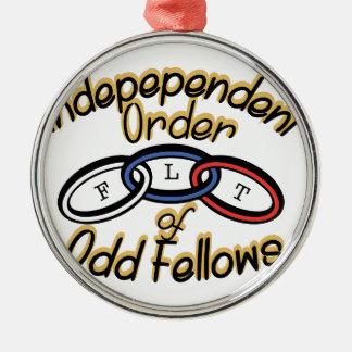 Independent Order Metal Ornament