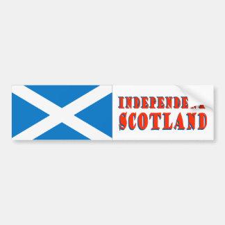 Independent Scotland Bumper Sticker Car Bumper Sticker