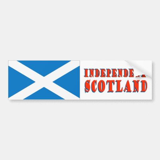Independent Scotland Bumper Sticker