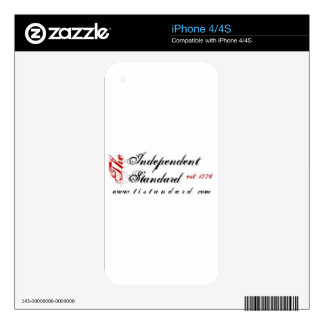 Independent Standard Decal For iPhone 4S