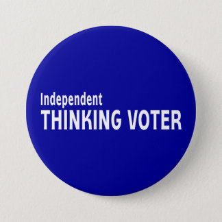 Independent Thinking Voter Button