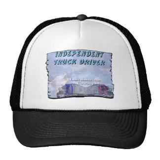 Independent truck driver trucker hat