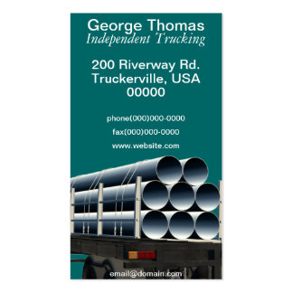 Independent Trucking Services Business Card