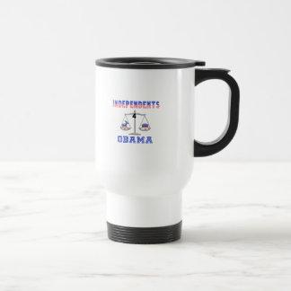 Independents 4 Obama Mugs