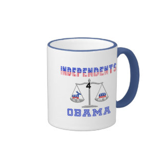 Independents 4 Obama Coffee Mugs