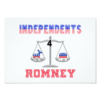 Independents $ Romney Card
