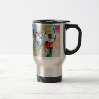 Independia Mocambicana! Flask Travel Mug