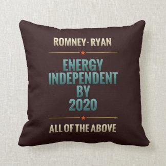 Independiente de la energía en 2020 almohada